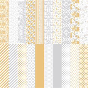 Picture of The Wedded Bliss Collection by Katie Pertiet Designer Cardstock-Set 10